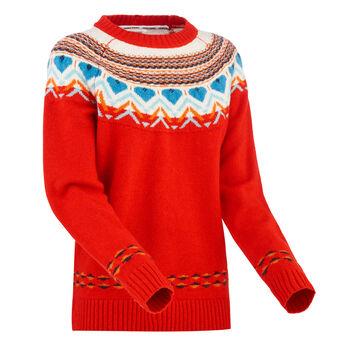 KARI TRAA Sundve strikkegenser dame Rød