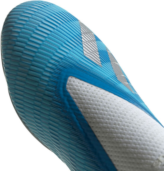 X 19.3 Laceless fotballsko kunstgress/gress senior