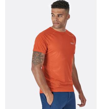 Rab Pulse SS teknisk t-skjorte herre Oransje