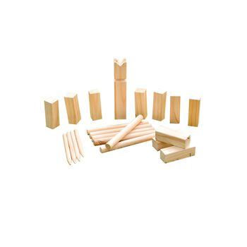 SportX  Kubb Game Medium Flerfarvet