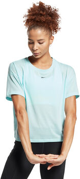 Reebok Workout Ready Supremium t-skjorte dame Blå