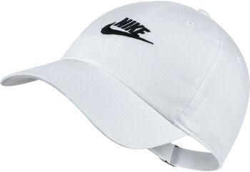Nike Heritage86 Futura Washed caps Hvit