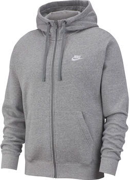 Nike Sportswear Club Fleece hettejakke herre Grå