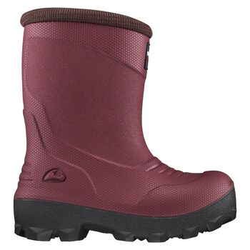 VIKING footwear Frost Fighter fôret gummistøvel barn/junior Rød