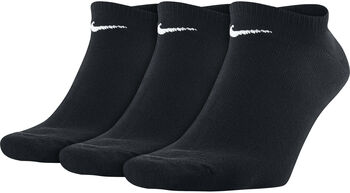 Nike Value No-Show 3-pk ankelsokk Svart