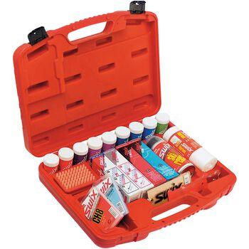 Swix T63F smørekoffert Rød
