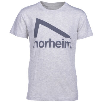Norheim Granitt Logo t-skjorte junior Grå