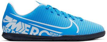 Nike Mercurial Vapor 13 Club fotballsko innendørs junior Gutt Blå