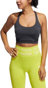 adidas Training Aeroknit sports-BH dame Grå