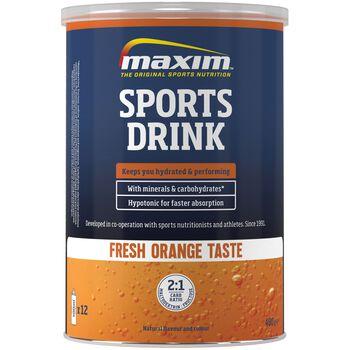 MAXIM Sports Drink 480 g Orange energidrikk Blå