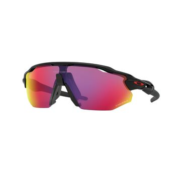 Oakley Radar EV Advancer Prizm™ Road - Polished Black sportsbriller Herre Svart