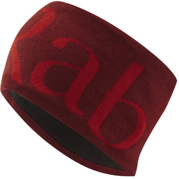 Rab Knitted Logo pannebånd Herre Rød