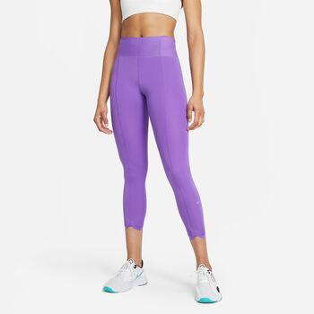 Nike One Luxe Icon Clash tights dame Lilla