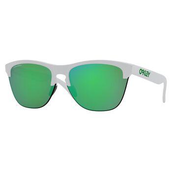 Oakley Frogskins Lite Matte White - Prizm™ Jade solbriller Grønn