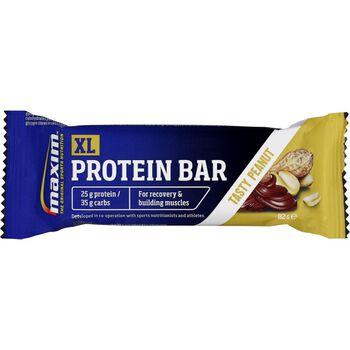 MAXIM Xl Protein Bar 82G Peanut Blå