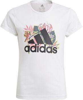 adidas Aeroready teknisk t-skjorte junior Jente Hvit