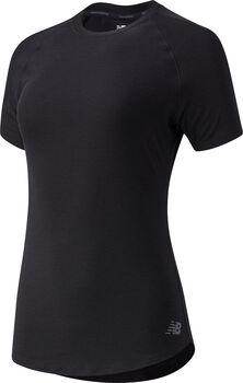 New Balance Sport Space Dye Tee teknisk t-skjorte dame Svart