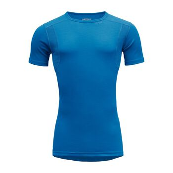 Devold Hiking Man ull t-skjorte herre  Blå