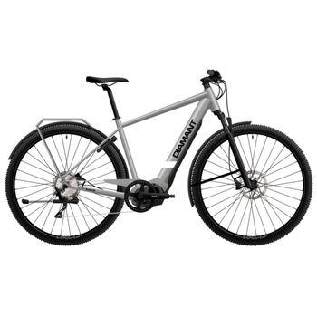 Diamant Volt Range el-sykkel herre Grå