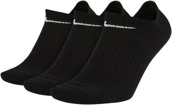 Nike Everyday Lightweight 3-pk tekniske sokker Svart