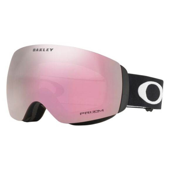 Flight Deck XM Prizm™ Hi Pink Iridium - Matte White alpinbriller