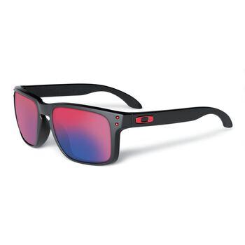 Oakley Holbrook Red Iridium - Matte Black solbriller Herre Svart