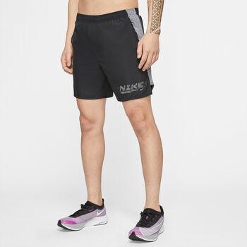 Nike Challenger løpeshorts herre Svart