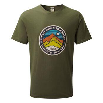 Rab Stance 3 Peaks t-skjorte herre Grønn