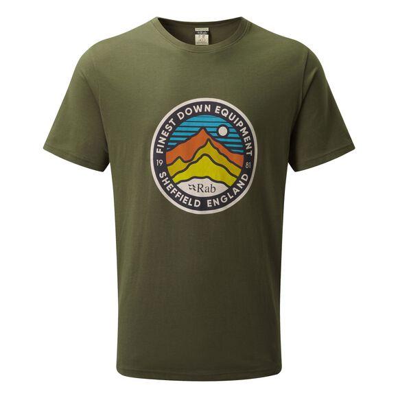 Stance 3 Peaks t-skjorte herre