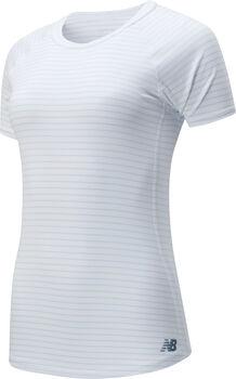 New Balance Q Speed Seasonless teknisk t-skjorte dame Hvit