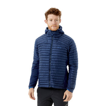 Rab Cirrus Flex 2.0 isolert jakke herre Blå