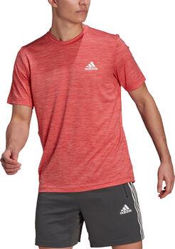 adidas AEROREADY Designed To Move Sport Stretch T-skjorte Herre Rød