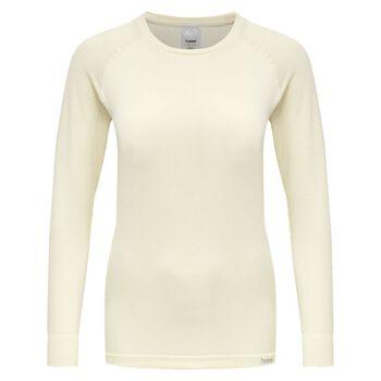 Hummel Clea Seamless T-shirt L/S treningsgenser dame Beige