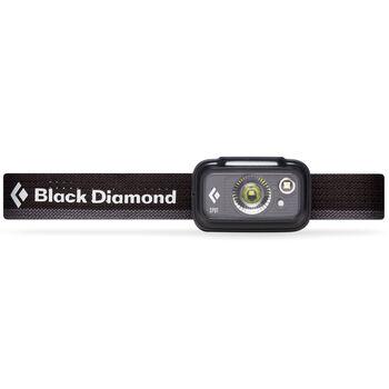 Black Diamond Spot 325 hodelykt Svart