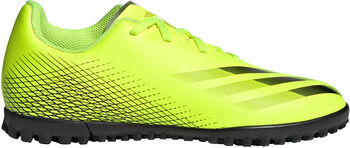 adidas X Ghosted.4 fotballsko Turf grus/kunstgress junior Gul