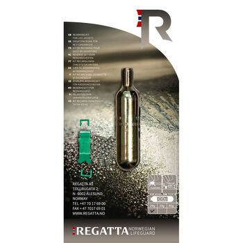 Regatta HR Co2 reservepatron 24 gram Herre Sølv
