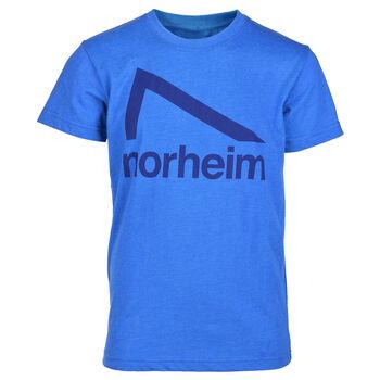 Norheim Granitt Logo t-skjorte junior Blå