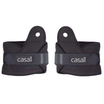 Casall Ankel og håndleddsvekter 2 x 2 kg  Svart
