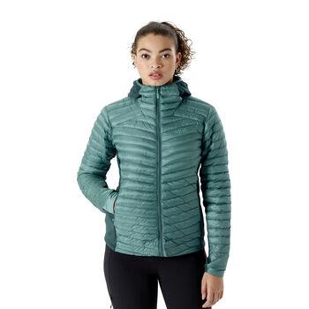 Rab Cirrus Flex 2.0 isolert jakke dame Grønn