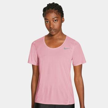 Nike City Sleek teknisk t-skjorte dame Hvit
