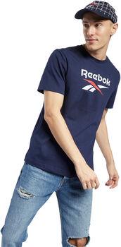 Reebok  Classic Vector t-skjorte herre Blå