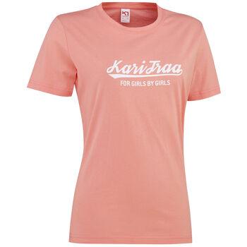 KARI TRAA Mølster t-skjorte dame Rosa