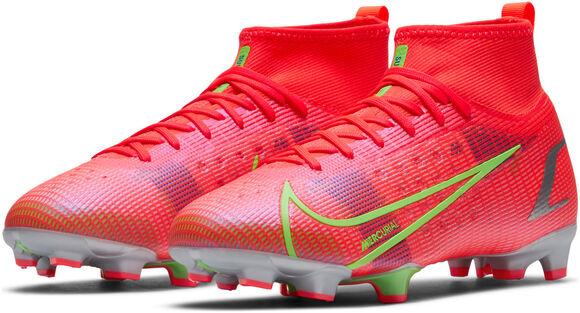 Nike Mercurial Superfly 8 Pro fotballsko gress junior
