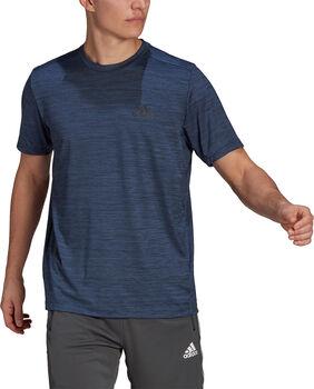 adidas Aeroready Designed To Move Sport Stretch t-skjorte herre Blå