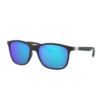 Ray-Ban RB4330CH Chromance solbriller Herre Blå