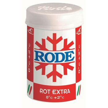 RODE Festevoks Rossa Extra 0/+2 skismøring Rød