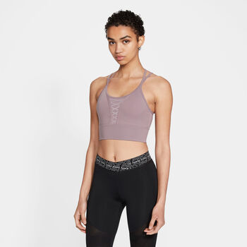 Nike Dri-FIT Cropped treningstopp dame