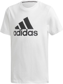 adidas Must Haves Badges of Sport t-skjorte barn/junior Hvit