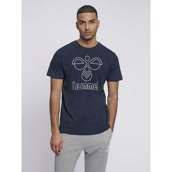 Hummel Peter T-shirt S/S t-skjorte herre Svart