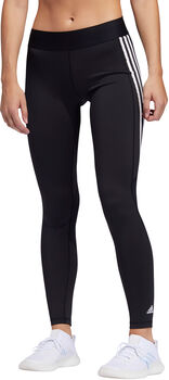 adidas Alphaskin 3-Stripes Long tights dame Svart
